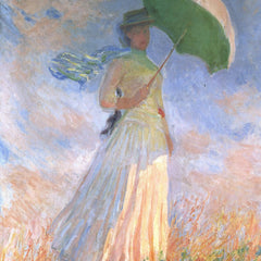 The Museum Outlet - Woman with Parasol