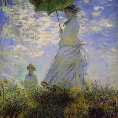 The Museum Outlet - Woman with a parasol
