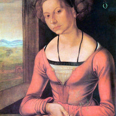 The Museum Outlet - Woman with braided hair by Durer
