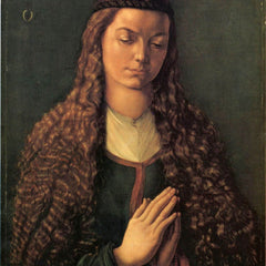 The Museum Outlet - Woman with curly hair by Durer