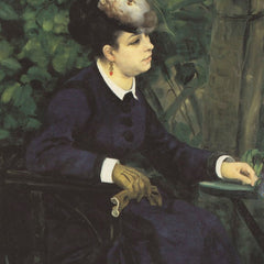 The Museum Outlet - Woman with gull feather (Woman in the garden) by Renoir