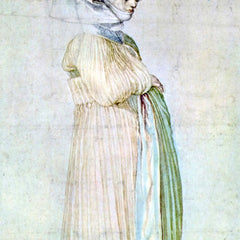 The Museum Outlet - Womans dress in church by Durer