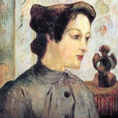 100% Hand Painted Oil on Canvas - Women With Topknots by Gauguin