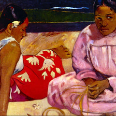 100% Hand Painted Oil on Canvas - Women of Tahiti by Gauguin