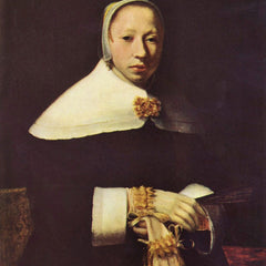 The Museum Outlet - Women's portrait by Vermeer