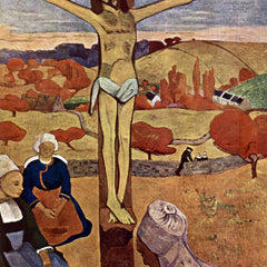 100% Hand Painted Oil on Canvas - Yellow Christ by Gauguin