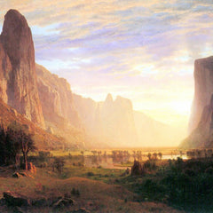 100% Hand Painted Oil on Canvas - Yosemite Valley 3 by Bierstadt