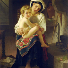 The Museum Outlet - Young Mother Gazing At Her Child
