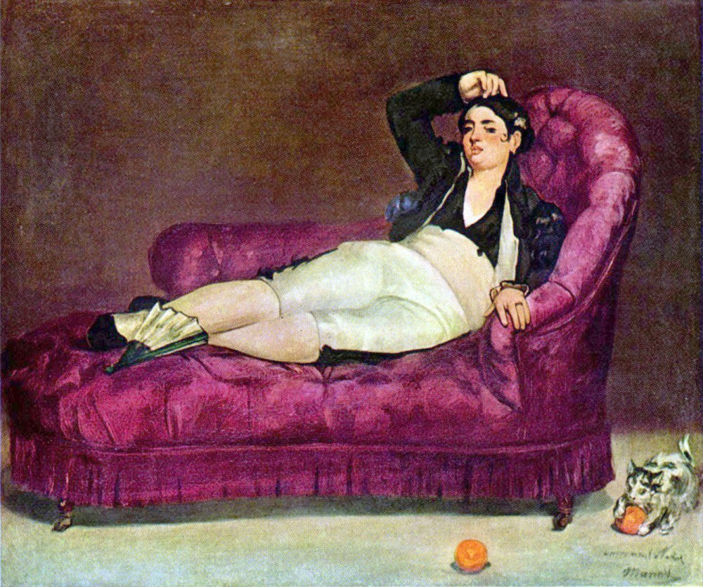 The Museum Outlet - Young woman in Spanish dress by Manet