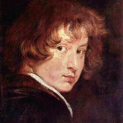 The Museum Outlet - Youthful self-portrait by Van Dyck