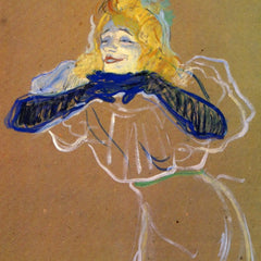 The Museum Outlet - Yvette Guilbert sings by Toulouse-Lautrec