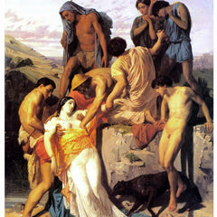 100% Hand Painted Oil on Canvas - Zenobia 1850