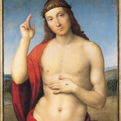 The Museum Outlet - cristo benedicente by Raffaello by Raffaello