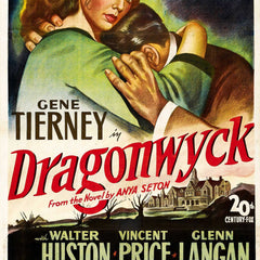 Reproduction of a poster presenting - Dragonwyck - A3 Poster Prints Online Buy
