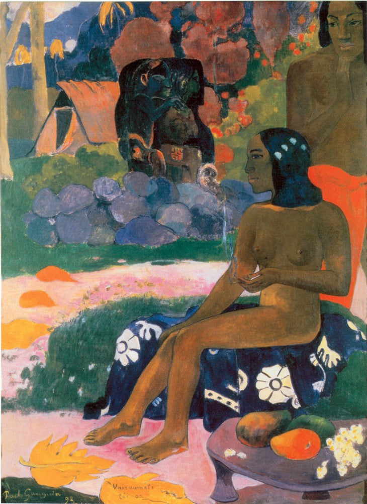100% Hand Painted Oil on Canvas - gauguin