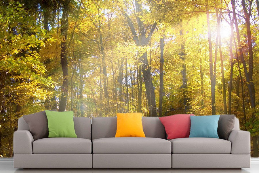 Roshni Arts - Curated Art Wall Mural - Nature Series - 1084 | Self-Adhesive Vinyl Furnishings Decor Wall Art