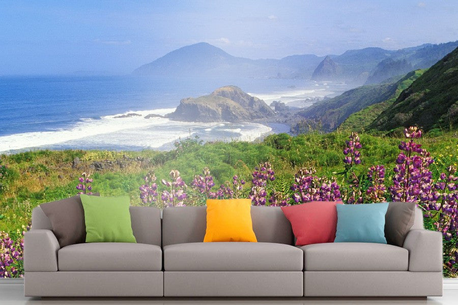Roshni Arts - Curated Art Wall Mural - Nature Series - 1319 | Self-Adhesive Vinyl Furnishings Decor Wall Art