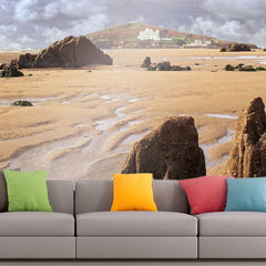 Roshni Arts - Curated Art Wall Mural - Nature Series - 2032 | Self-Adhesive Vinyl Furnishings Decor Wall Art