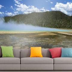 Roshni Arts - Curated Art Wall Mural - Nature Series - 982 | Self-Adhesive Vinyl Furnishings Decor Wall Art