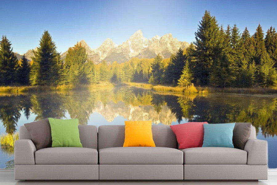 Roshni Arts - Curated Art Wall Mural - Nature Series - 1017 | Self-Adhesive Vinyl Furnishings Decor Wall Art