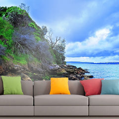 Roshni Arts - Curated Art Wall Mural - Nature Series - 29 | Self-Adhesive Vinyl Furnishings Decor Wall Art