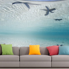 Roshni Arts - Curated Art Wall Mural - Nature Series - 22 | Self-Adhesive Vinyl Furnishings Decor Wall Art