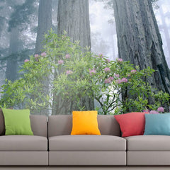 Roshni Arts - Curated Art Wall Mural - Nature Series - 24 | Self-Adhesive Vinyl Furnishings Decor Wall Art