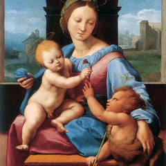 The Museum Outlet - madonna aldobrandini by Raffaello