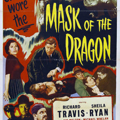 Reproduction of a poster presenting - Maskofthedragon - A3 Poster Prints Online Buy