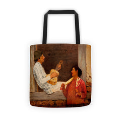 Almeida Junior - The Guitar Player - Tote bag - Vinteja Corporation