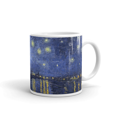 Starry Night Over the Rhone by Van Gogh - Mug made in the USA - Vinteja Corporation