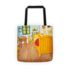 The bedroom in Arles. Saint-Remy by Van Gogh - Tote bag - Vinteja Corporation