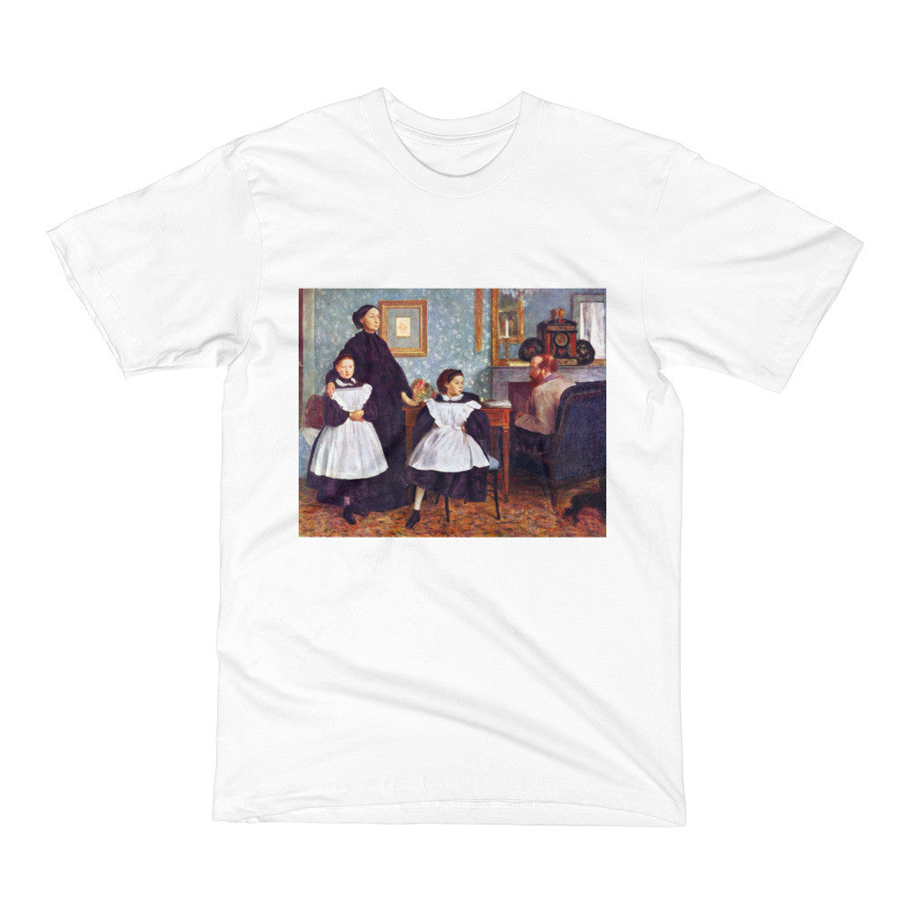 Portait of the Bellelli family by Degas - Men's Short Sleeve T-Shirt - Vinteja Corporation