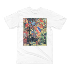 14 July in Paris by Van Gogh - Men's Short Sleeve T-Shirt - Vinteja Corporation