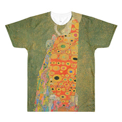 Abandoned Hope by Klimt - Sublimation men's crewneck t-shirt - Vinteja Corporation