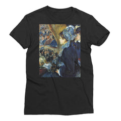 At the theatre by Renoir - Women's Short Sleeve T-Shirt - Vinteja Corporation