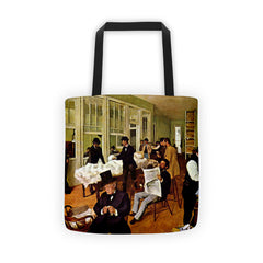 The cotton exchange by Degas - Tote bag - Vinteja Corporation