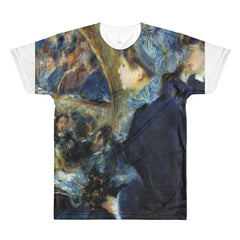 At the theatre by Renoir - Sublimation men's crewneck t-shirt - Vinteja Corporation