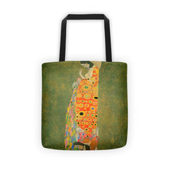 Abandoned Hope by Klimt - Tote bag - Vinteja Corporation