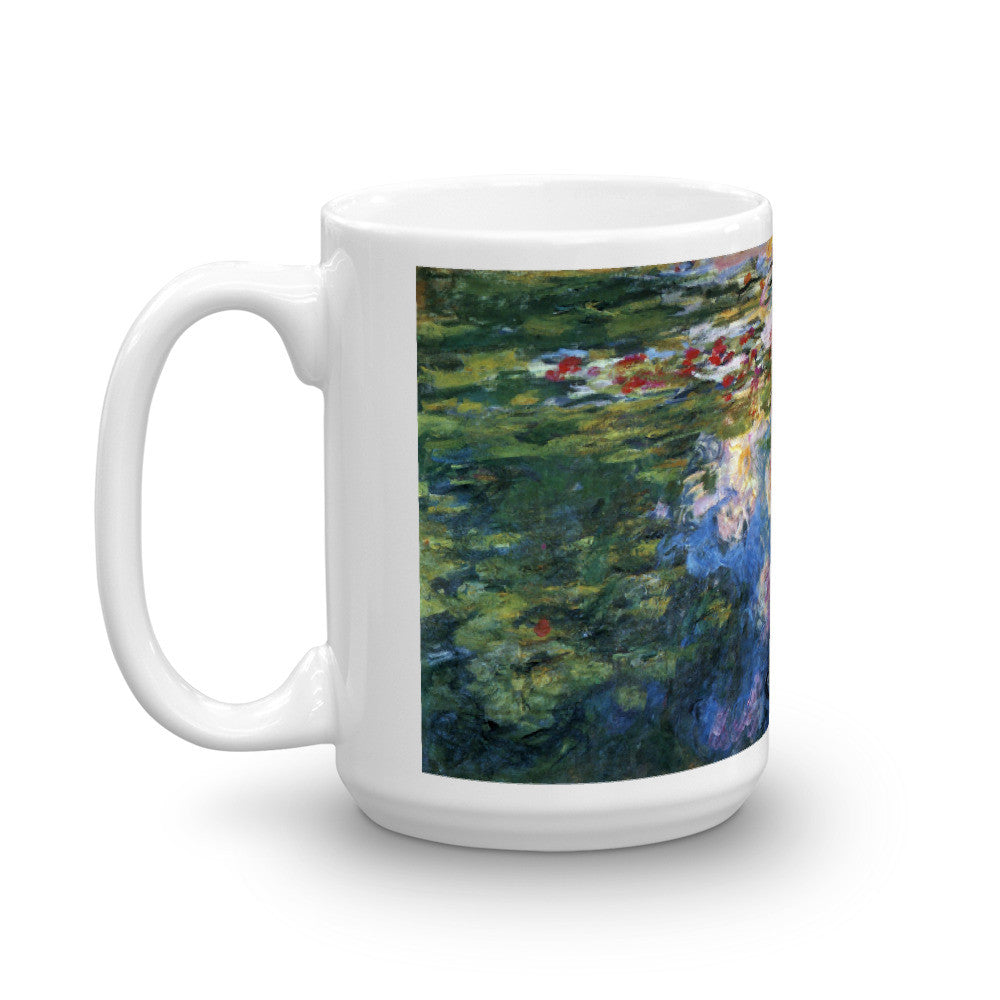 Water Lillies # 4 by Monet - Mug made in the USA - Vinteja Corporation