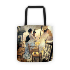 The gallery of the H.M.S. Calcutta by Tissot - Tote bag - Vinteja Corporation