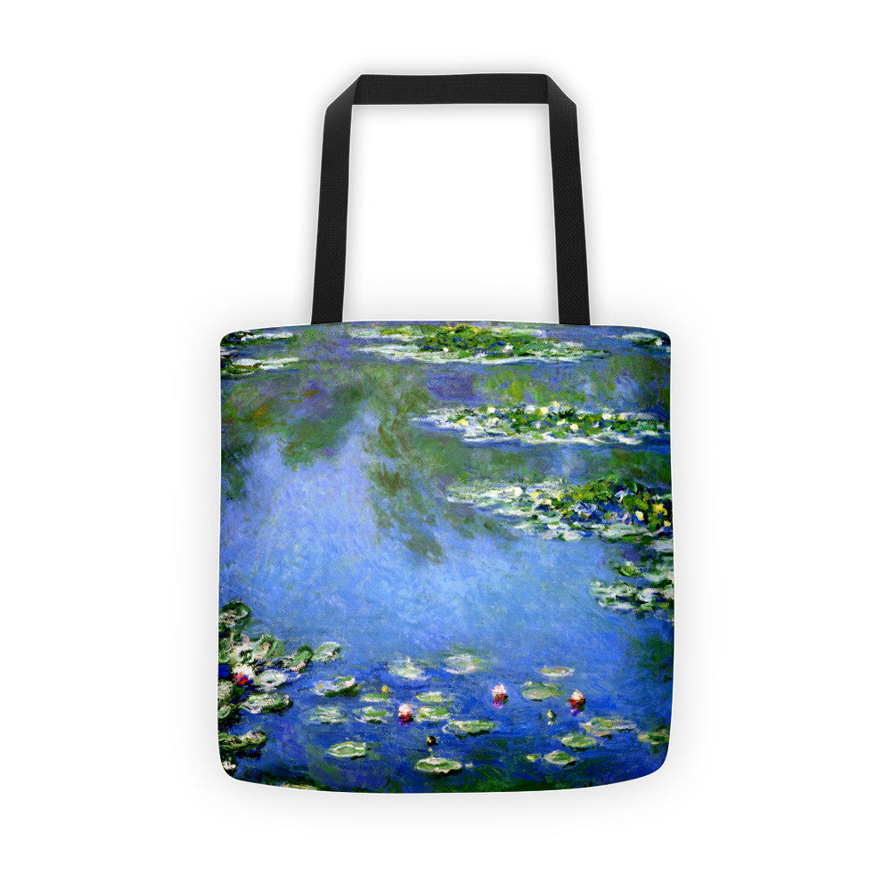 Water Lilies - Tote bag - Vinteja Corporation