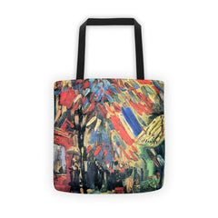 14 July in Paris by Van Gogh - Tote bag - Vinteja Corporation