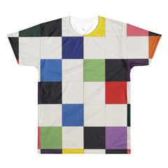 Ellsworth Kelly - Colors for a Large Wall - Sublimation men's crewneck t-shirt - Vinteja Corporation