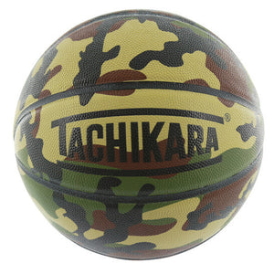 ORIGINAL LEATHER BASKETBALL - Woodland Camouflage