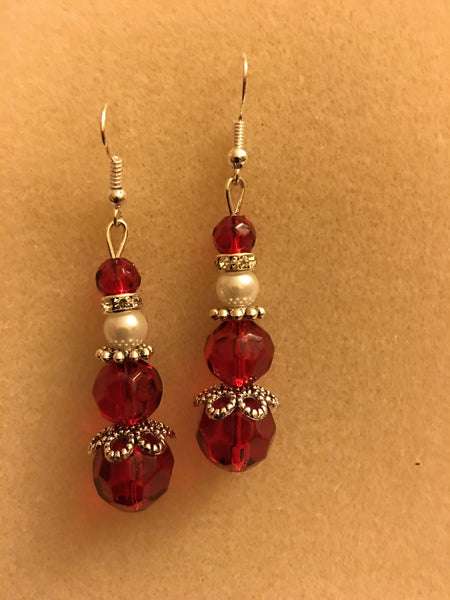 Mrs. Claus Earrings
