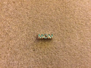 Mom Floating Charm - Green