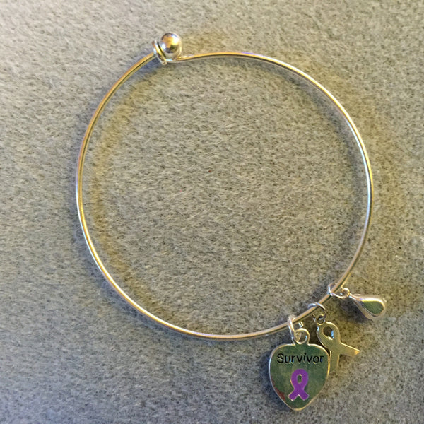 Bracelet with Survivor Charm