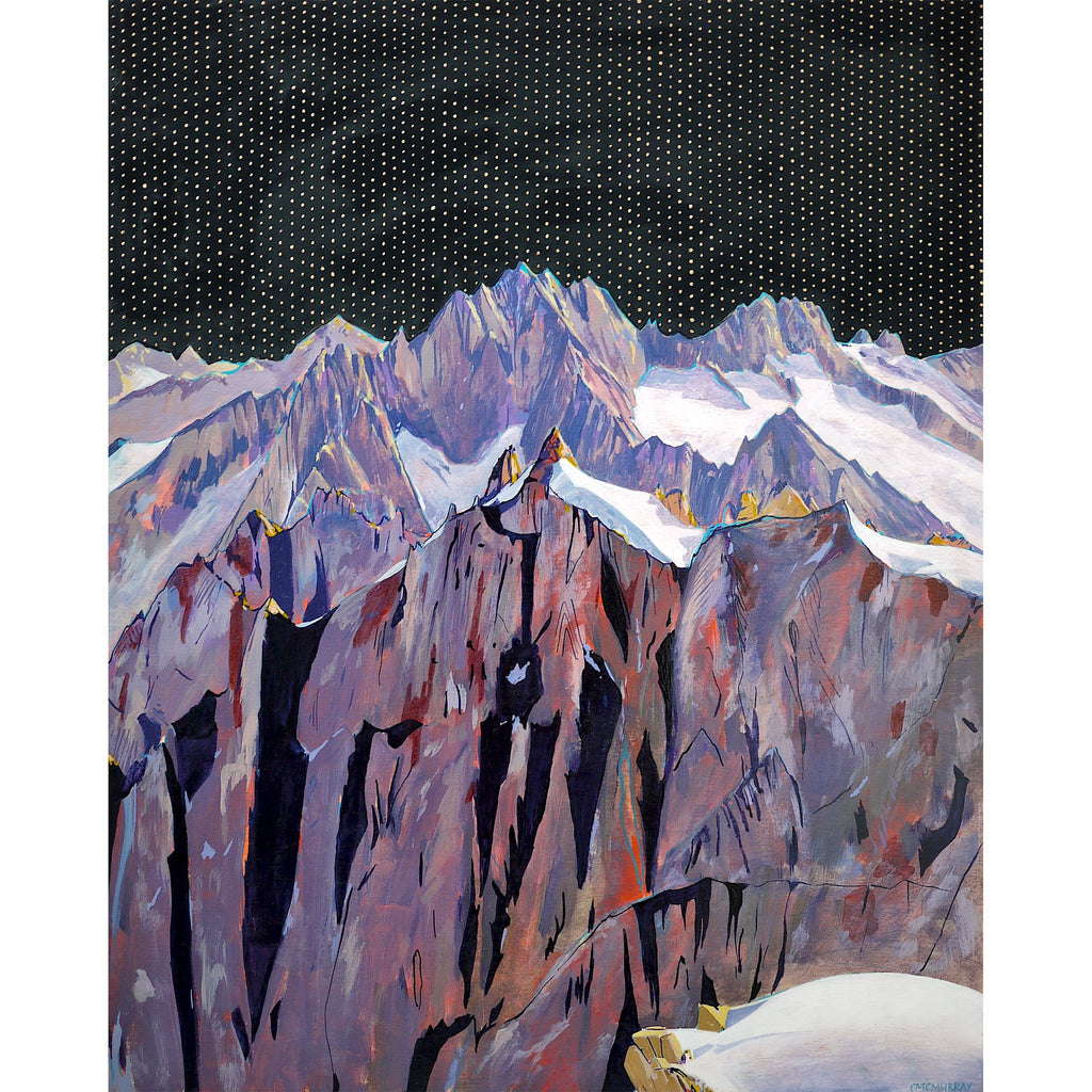french alps print Cathy McMurray