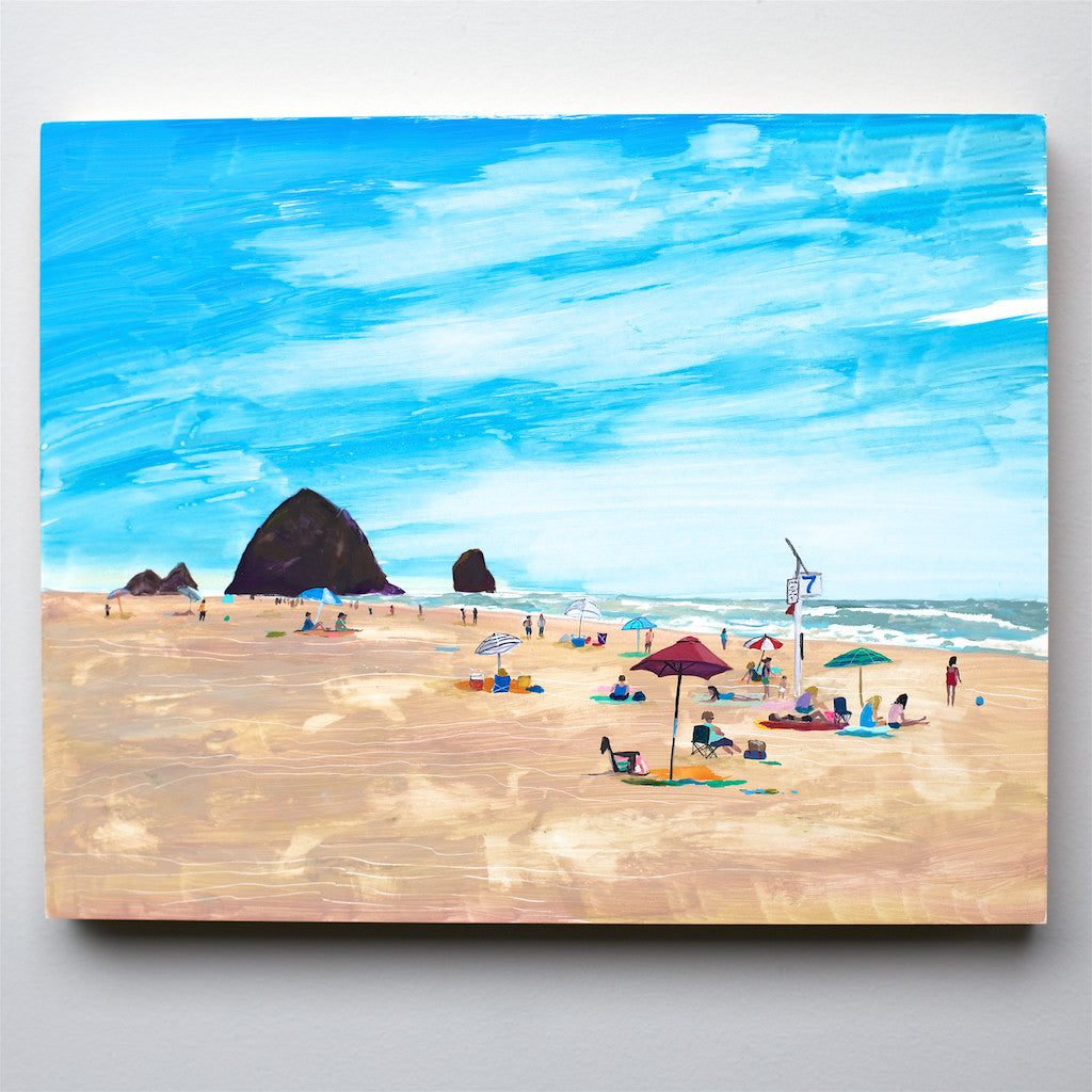 Cannon Beach Oregon painting